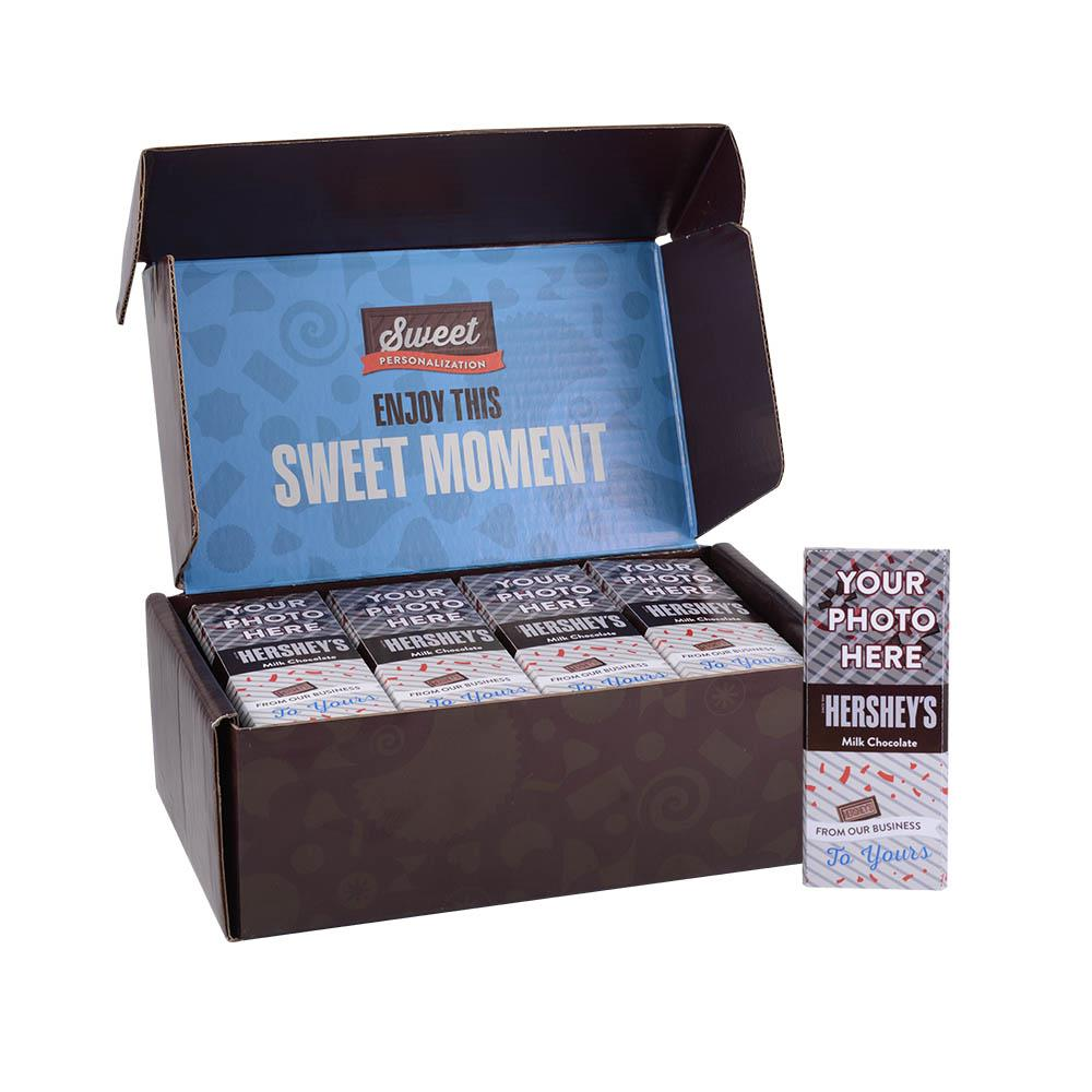 Business to Business Design<br>Personalized HERSHEY'S 1.5oz Milk Chocolate Bar<br>(36 pack)