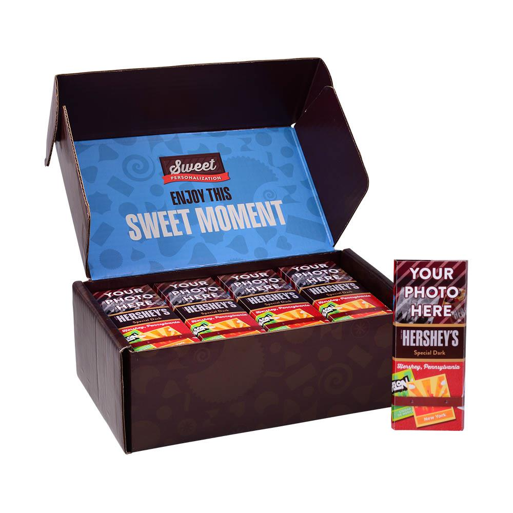 Hershey, Pa Travel Design<br>Personalized HERSHEY'S 1.45oz Special Dark Candy Bar<br>(36 pack)